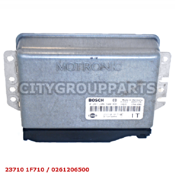 NISSAN MICRA K11E MODEL 2000 TO 2002 ENGINE CONTROL UNIT 23710 1F710 0261206500